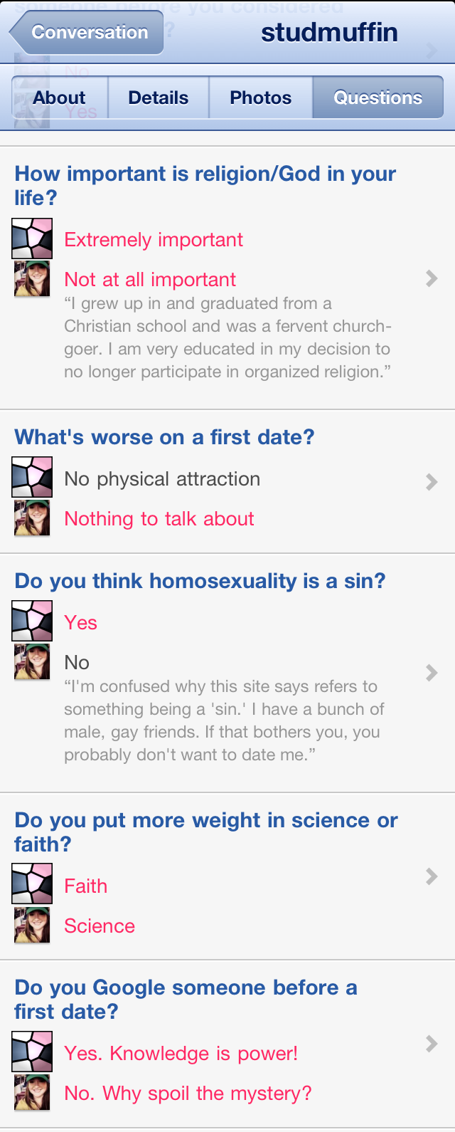 Good questions to ask online dating message