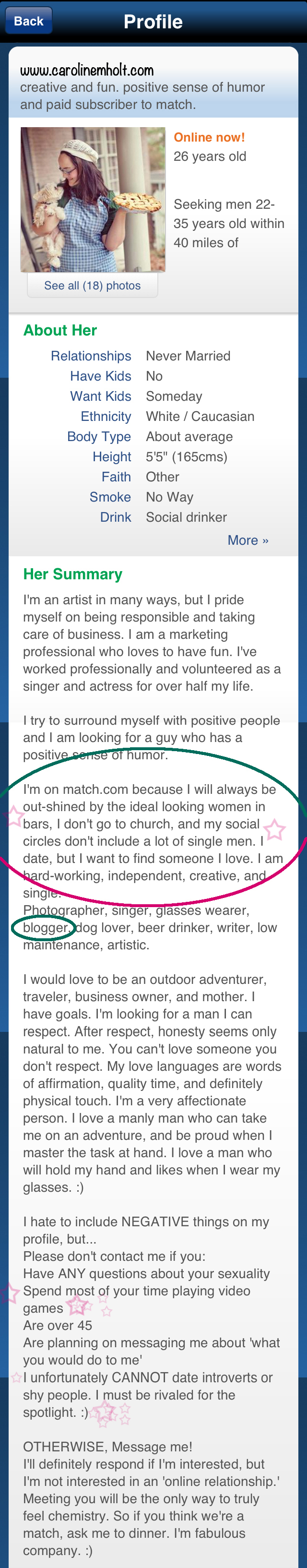 Deleted all of my online dating profiles for good. dating
