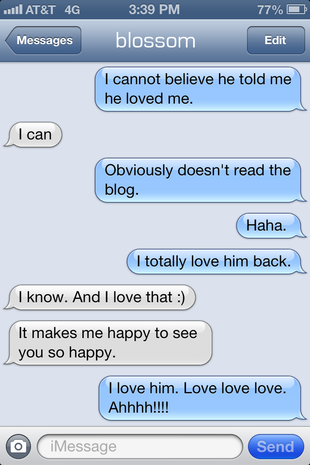 Love You Text Messages...